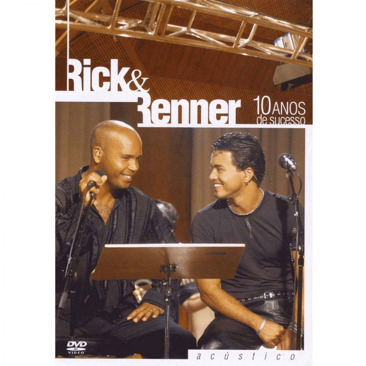 10 anos de sucesso - DVD Ac�stico - Rick e Renner